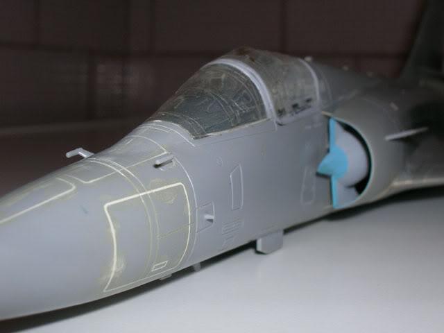 Mirage 2000C, ESCI 1:48 DSCN4485_M2kC_ESCI