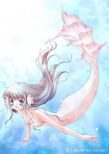 Imagenes de sirenas manga o anime Beautifulmermaid