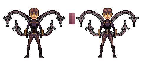 Chameleon Twins. Spiderman: Ataxia  DocOck2099_zps28901f2b