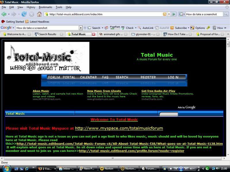 Total Music Forum TotalMusicpage1