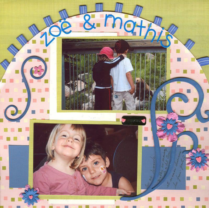mon coeur est a toi et la deuxieme Zoe et Mathis Zoeetmathis