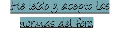 {#}Normas del foro. Normas