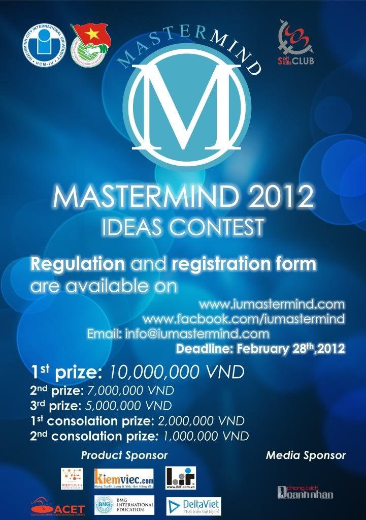 Cuộc thi Ý tưởng Sáng tạo _ MasterMind 2012 MM2012-Round1