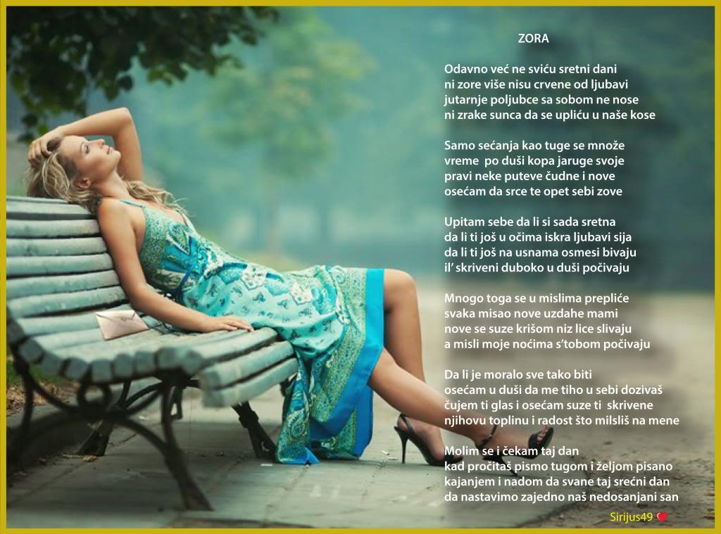 Poetski kutak -Lične pesme članova foruma! - Page 20 Zora_zps1bffe6b9