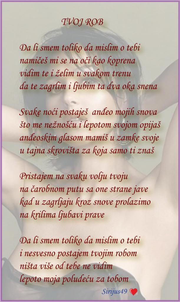 Poetski kutak -Lične pesme članova foruma! - Page 12 Tvojrob_zps2bcbc9b5