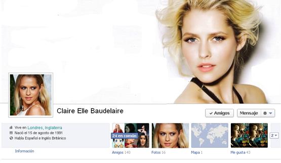 Claire Elle Baudelaire. Clairesfaces