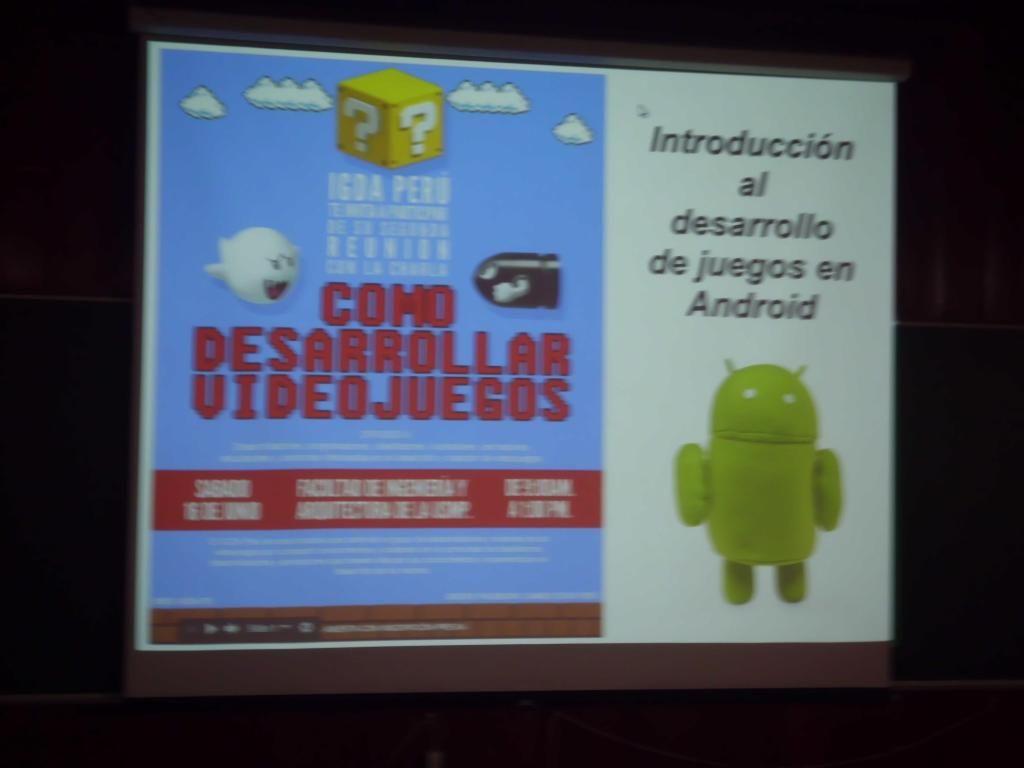 En la Segunda Reunion de la IGDA Perú 4