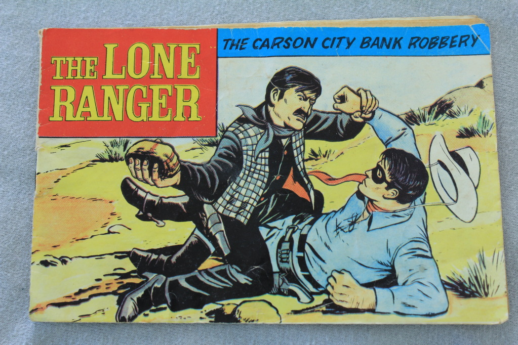 Lone ranger manuals 012-6