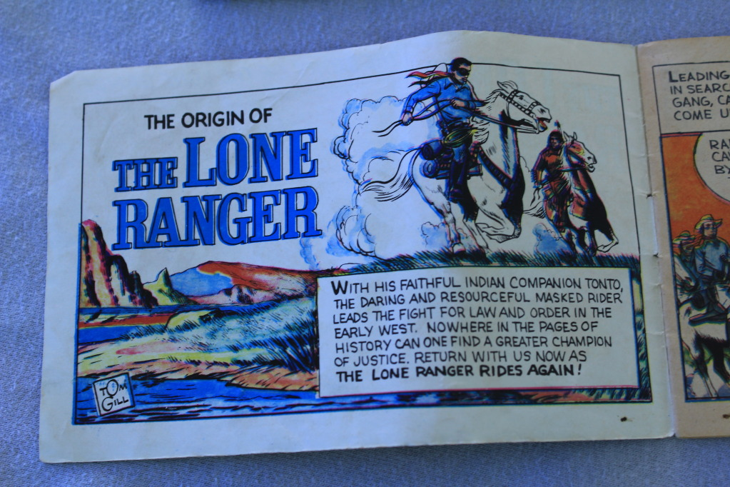 Lone ranger manuals 015-9