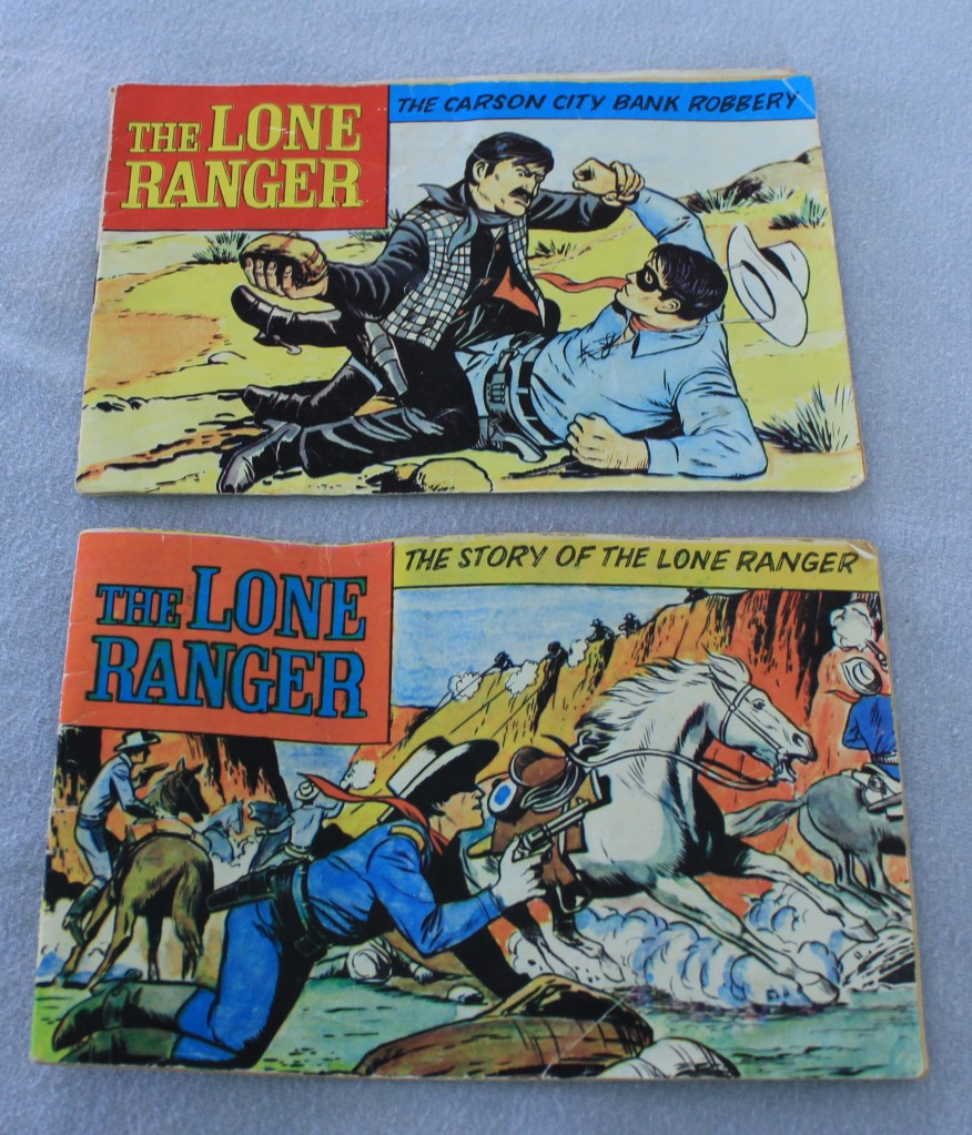 Lone ranger manuals 016-9