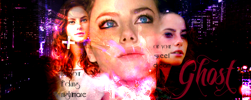 The ghost of your f*cking nightmare → Katie's relations Ghostfirma