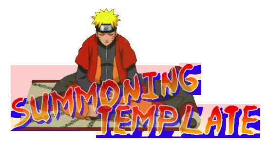 Tiger Summoning Scroll - Complete Summoning-template