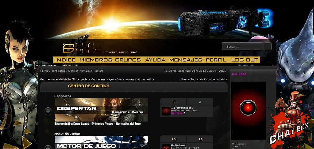 Deep Space RPG PantallaPral-1