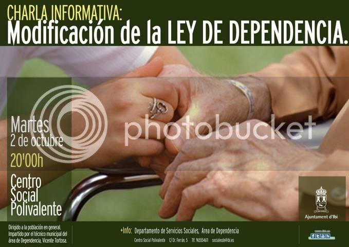"""Sobre la """"Ley de Dependencia""""... 419482_465154976838464_684795401_n"""