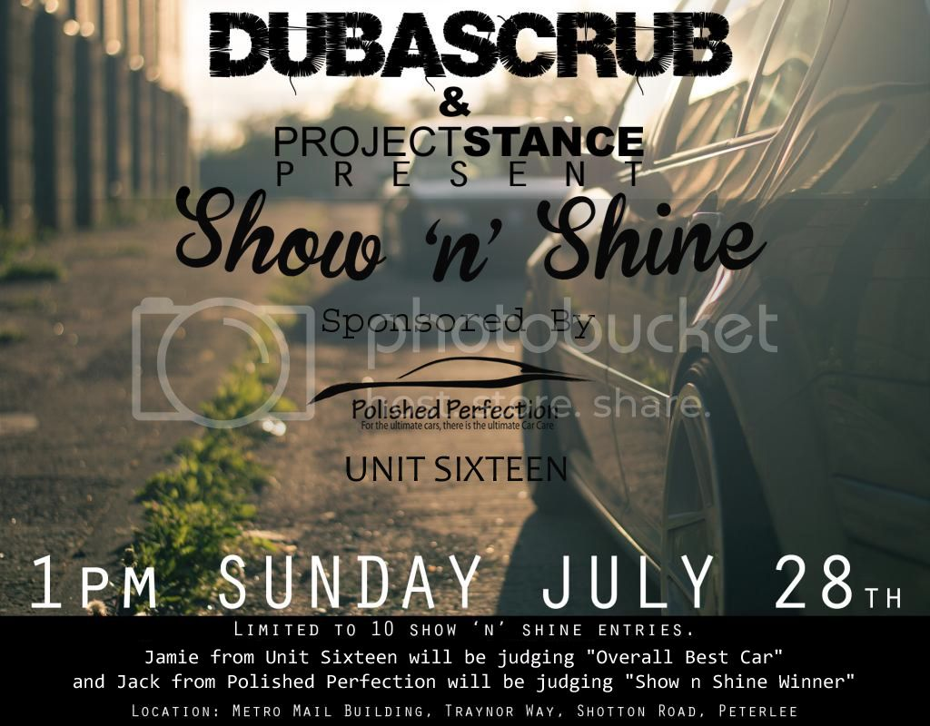 DUBaSCRUB July 2013 Meet (Show 'n' Shine) MeetPoster_zps85534ee7