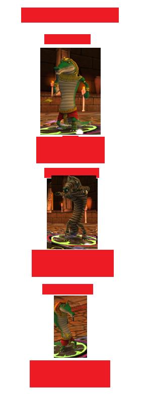 Illustrated Guide to all Krokotopia Bosses Krokotopia-3
