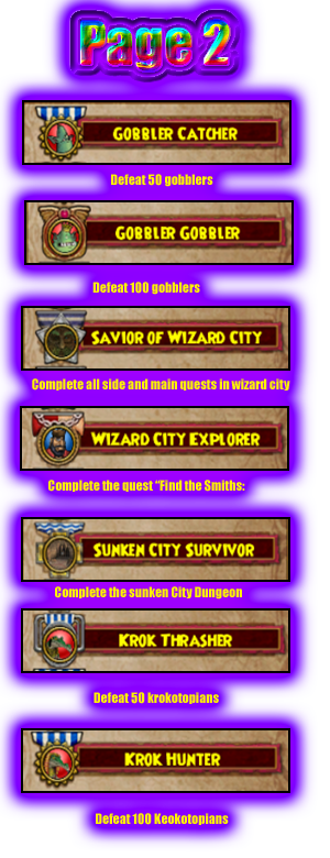 Guide to All Badges Badge-1