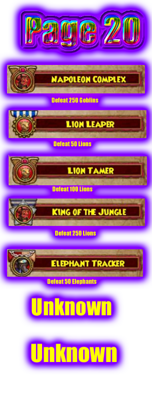 Guide to All Badges Badge-20