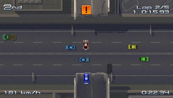 Review: RUSH RUSH RALLY RACING (WiiWare) - Page 1 RRRscreen1