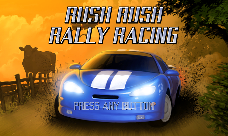 WiiWare Reviews RushRallyracingLogo