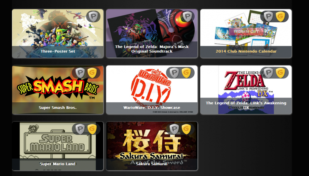 Club Nintendo Platinum and Gold Status rewards are here.  CNPGstatusrewards_zps06fe5b7c