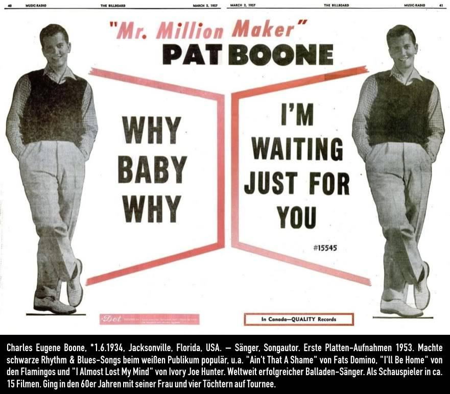 March 13, 1957 Patboonewhybabywhy