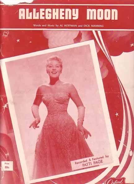 June 6, 1956 Pattipagealleghenymoon