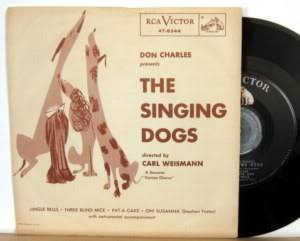 December 7, 1955 Singingdogs