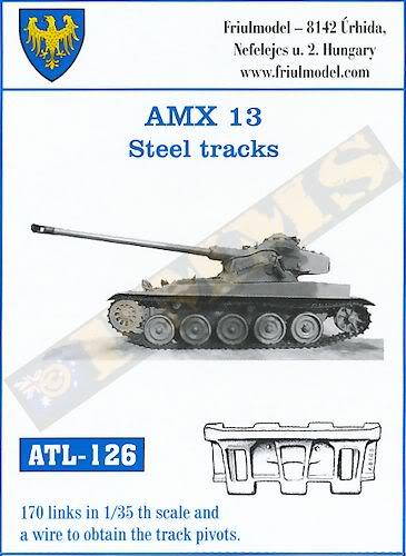 chenilles - Nouveautés Friulmodel. Dont chenilles AMX 13! Mais si, mais si! FRIULLX131