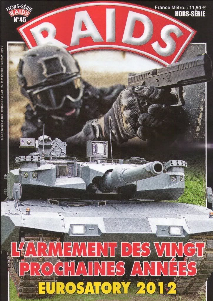 """RAIDS. Hors-série N°45. """"L'armement des vingt prochaines années. Eurosatory 2012"""". RAIDHS45_1"""