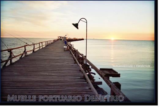 Muelle Portuario Demetrio. Muelle