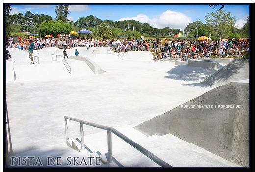 Pista de Skate. Skate