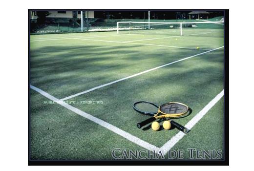 Cancha de Tenis. Tenis