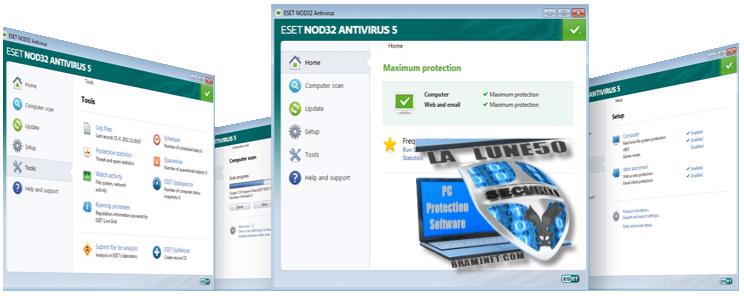 ESET NOD32 & Smart Security 5 ⋟★ بتفعيل أسطوري 004-3