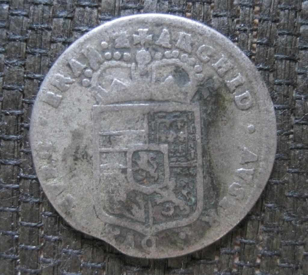 4 patards 1698. Carlos II. Amberes. 565dbeb5-7f05-4ee9-beee-054c67d83e1c