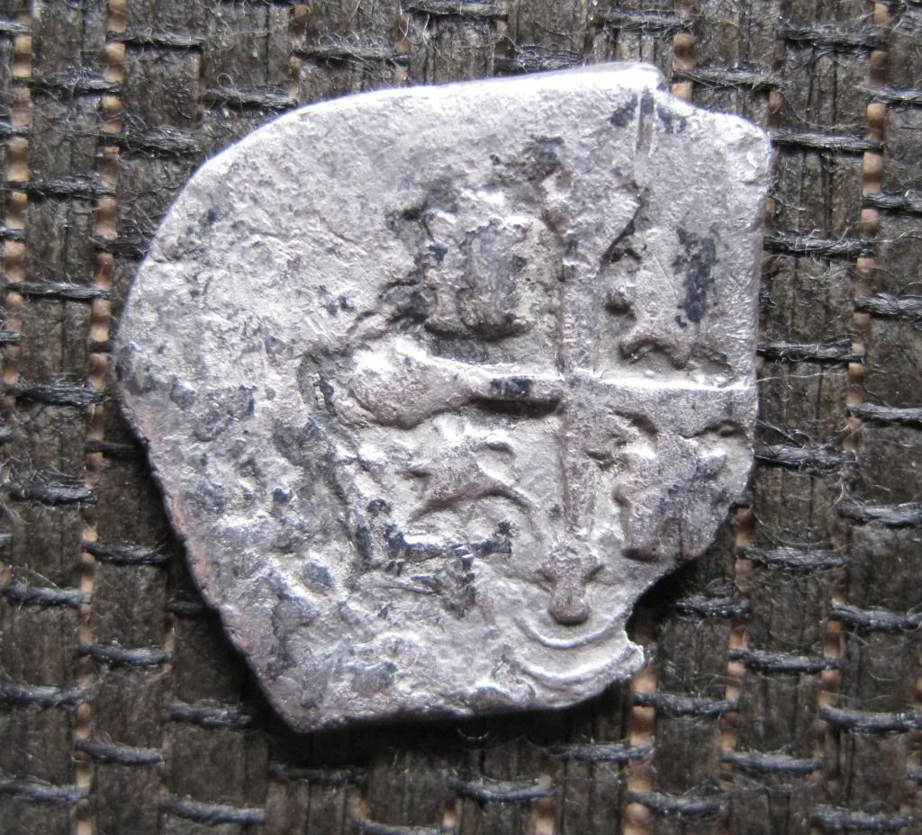 1/2 real de Felipe III o IV. Méjico. Ref607crz