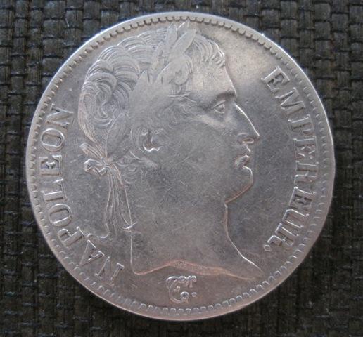 5 Francos 1811 Ref626car