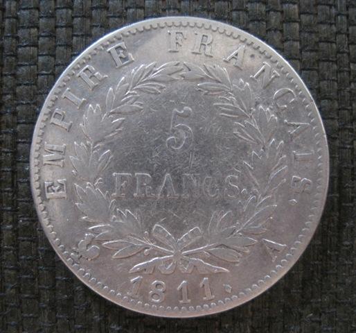 5 Francos 1811 Ref626crz