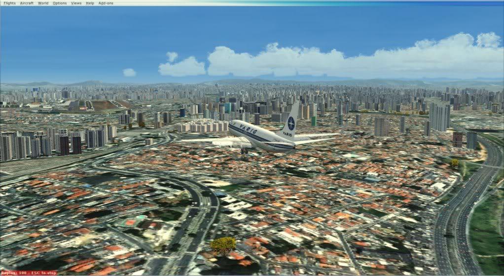 |SBFL| Hercílio Luz Intl --> |SBSP| Congonhas 2012-4-15_10-44-12-163