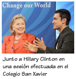 AAMIR KHAN Clinton