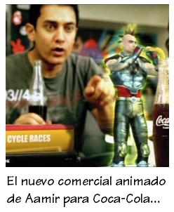 AAMIR KHAN Cocacola