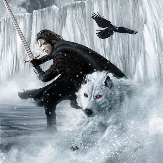 Game of Thrones (EEUU) Snow-and-Ghost