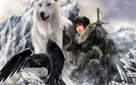 Game of Thrones (EEUU) Jon-snow-artwork