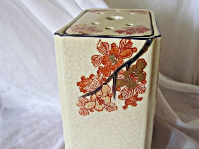 Japanese Pottery Vase For Flower Arrangments IMG_2287_zpsb867b142