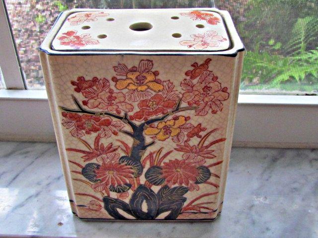 Japanese Pottery Vase For Flower Arrangments IMG_2291_zps8f934720
