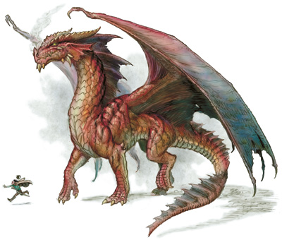 Dragones! Red-dragon