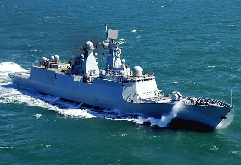 "3 فرقاطات الصينية ""Type A-054 JiangKai II"" للجزائر - صفحة 8 Chinatype054-2"