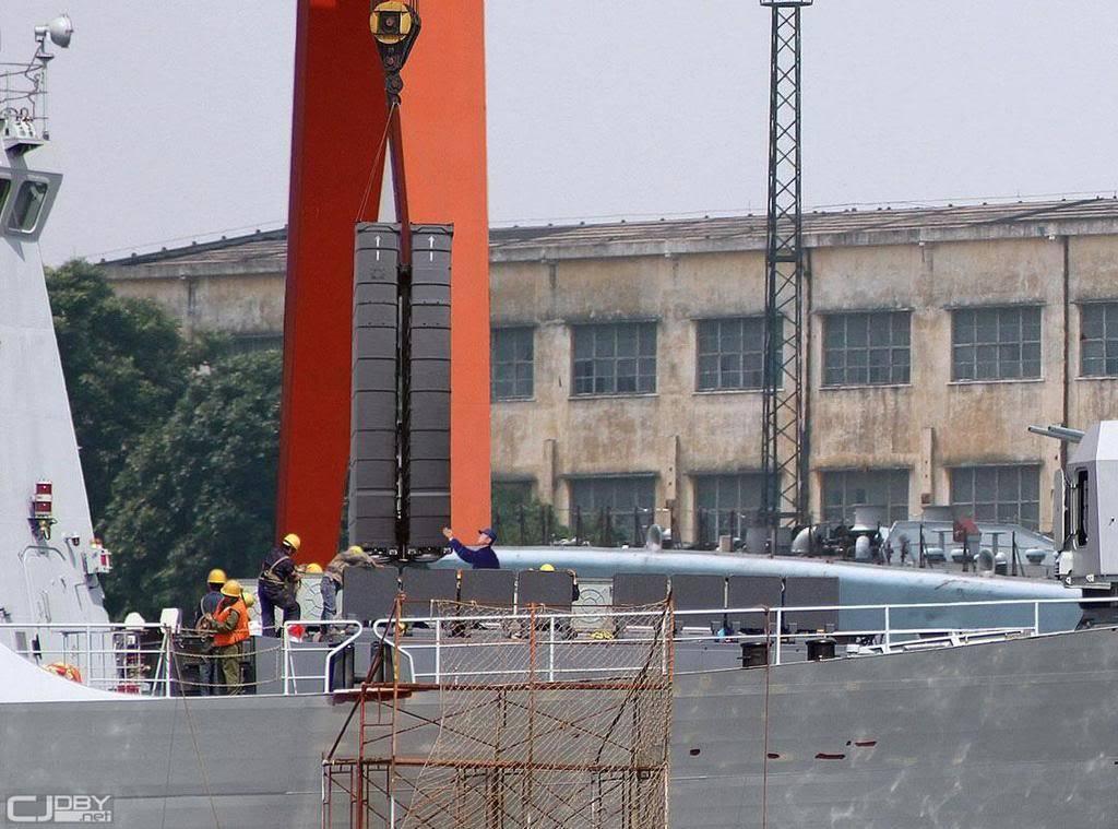 """3 فرقاطات الصينية """"Type A-054 JiangKai II"""" للجزائر - صفحة 8 ChinaremplissageVLS054"""