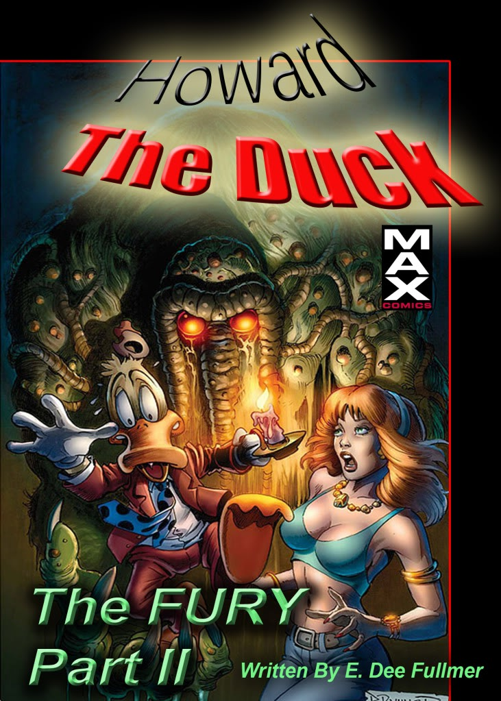 Howard The Duck MAX: The Fury #2  for MATURE READERS HTDFURY2copy