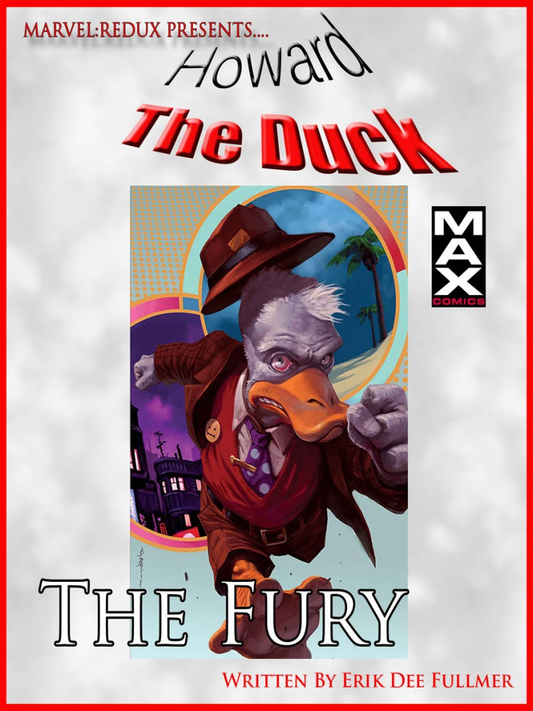 Coming Soon....Howard The Duck MAX #1: The Fury Hd1a